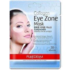 Purederm Kolagenové polštářky pod oči, 30ks/balení AKCE 2+1 ZDARMA