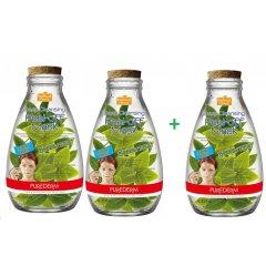 Purederm Hluboce čisticí slupovací pleťová maska Zelený čaj, AKCE 2+1 ZDARMA, 3ks