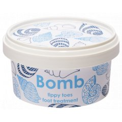 Bomb cosmetics Krém na popraskané paty s bambuckým máslem, 200 ml