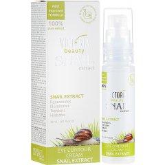 Victoria Beauty Snail Extract Oční krém proti vráskám se šnečím extraktem, 30 ml