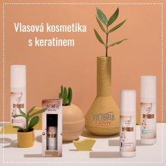 Victoria Beauty KERATIN Therapy Vlasový fluid pro vyhlazení vlasů, 150 ml