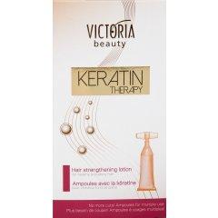 Victoria Beauty KERATIN Therapy Ampule pro posílení vlasů, 5 x10 ml
