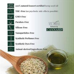 Victoria Beauty Cannabis Ultra hydratační omlazující denní krém s extraktem z konopí, 30 ml