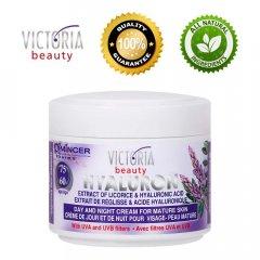 Victoria Beauty Hyaluron Denní a noční krém pro zralou pokožku 60+, 50 ml