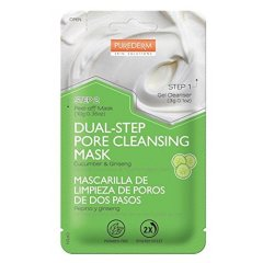 Purederm Dvoufázová Slupovací maska s výtažky z okurky a ženšenu, 13 g