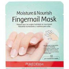 Purederm Hydratační a výživná maska na nehty, AKCE 2+1 ZDARMA  3 x 10 kusů