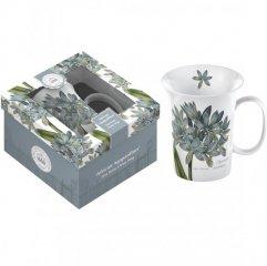 Creative Tops Porcelánový hrnek Agapanthus v dárkovém balení, 350 ml