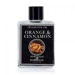 Ashleigh & Burwood Esenciální olej Orange & Cinnamon(pomeranč se skořicí) do aromalampy, 12 ml