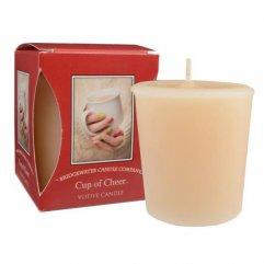 Bridgewater Candle Company  Votivní Svíčka Cup Of Cheer, 15 hodin