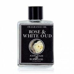 Ashleigh & Burwood Esenciální olej ROSE & WHITE OUD (růže a bílý oud) do aromalampy, 12 ml