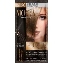Victoria Beauty Keratin Therapy Tónovací šampón na vlasy V 60, Dark blonde, 4-8 umytí
