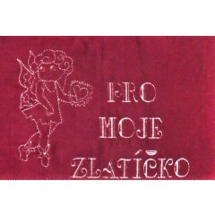 Lavennis Polštářek pro moje zlatíčko, 30 cm x 40 cm