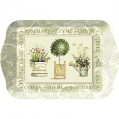 Creative Tops Melaminový tácek Topiary 21x14,5 cm