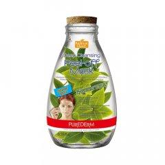 Purederm Hluboce čisticí slupovací pleťová maska -Zelený čaj, 10ml
