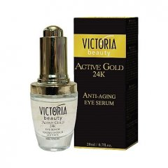 Victoria Beauty Active gold 24K zlaté oční sérum, 20 ml