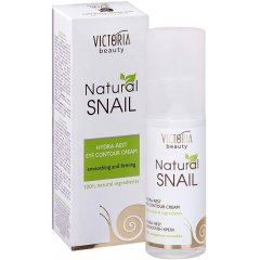 Victoria Beauty Natural snail HYDRA-REST Oční krém, 30 ml