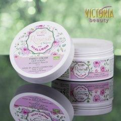 Victoria Beauty Roses and Hyaluron Univerzální krém s růžový olejem a kyselinou hyaluronovou pro celou rodinu, 200 ml