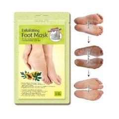 Skinlite Exfoliační maska na nohy s papájou 1 pár