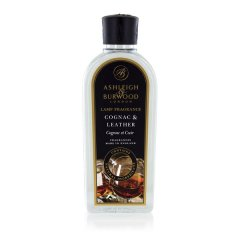 Ashleigh & Burwood Náplň do katalytické lampy COGNAC&LEATHER (koňak a kůže), 500 ml