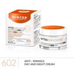 Mincer VITAC Infusion Denní a noční protivráskový krém s kyselinou hyalurovou, 50 ml