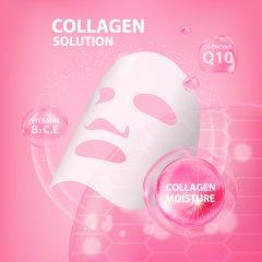 Skinlite Liftingová kolagenová pleťová maska, 3 ks
