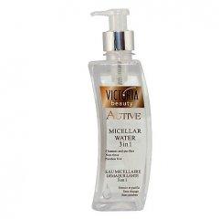Victoria Beauty Active gold Micelární pleťová voda 3 v 1, 400 ml