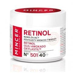 Mincer RETINOL 40+ Hydratační krém s retinolem, 50 ml