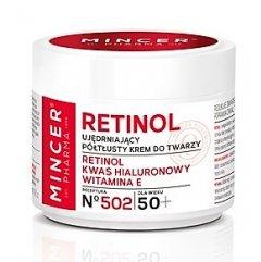 Mincer RETINOL 50+ Zpevňující pleťový krém s retinolem, 50 ml