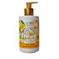 Victoria Beauty Aroma Therapy Spa Golden lilly (zlatá lilie) Tělové mléko 250 ml