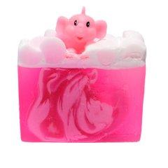 Bomb cosmetics Glycerinové mýdlo Růžový slon a limonáda, 100 g