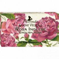 La Dispensa Italské přírodní mýdlo Rose Inglese (anglická růže), 100 g