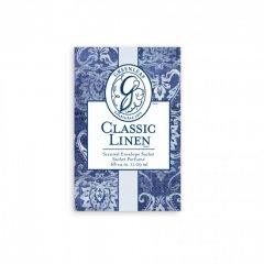 Greenleaf Vonný sáček Small Classic Linen (Vůně prádla), 11 ml