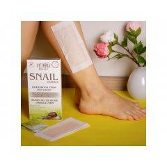 Victoria Beauty Snail Extract Depilační pásky na tělo se šnečím extraktem, AKCE 2+1 ZDARMA, 66 ks
