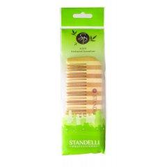 Standelli Professional Hřeben na vlasy z bambusového dřeva, 18 cm