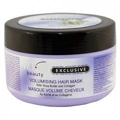Victoria Beauty Exclusive Maska na vlasy pro dodání objemu s bambuckým máslem a kolagenem, 350 ml