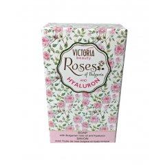Victoria Beauty Mýdlo Roses and hyaluron s kyselinou hyaluronovou 70 g