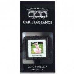 Bridgewater candle company Vůně do auta Tickled Pink (růžové květy)