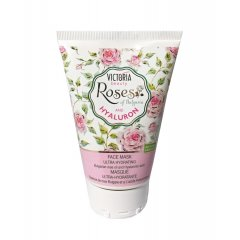 Victoria Beauty Roses and hyaluron Hydratační pleťová maska s kyselinou hyaluronovou 100 ml