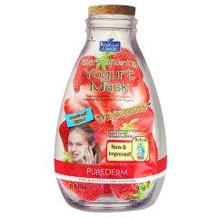 Purederm Zvláčňující jogurtová pleťová maska s jahodami, 15ml