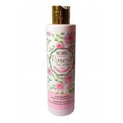 Victoria Beauty Roses and Hyaluron Vlasový šampón s růžovým olejem a kyselinou hyaluronovou 250 ml