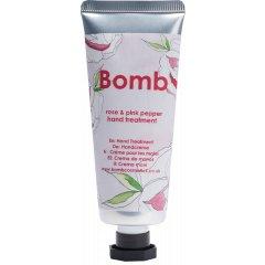 Bomb Cosmetics Krém na ruce Růže a růžový pepř 25 ml