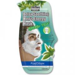 Purederm Relaxační pleťová maska pro muže, 15ml