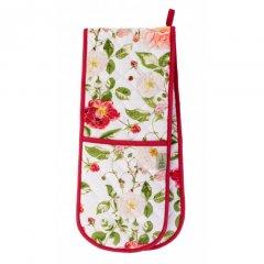 Ulster Weavers Dvojitá kuchyňská rukavice s poutkem Traditional Rose