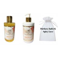 Victoria Beauty Spa Aroma Therapy Dárkový balíček Spicy Love + organzová taštička ZDARMA