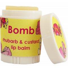Bomb cosmetics Balzám na rty Rebarborový puding