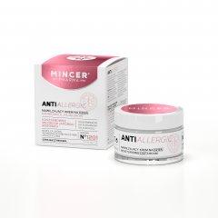 Mincer Pharma AntiAllergic N°1200 hydratační denní krém na rozšířené a popraskané žilky N°1201 (Chestnut, Gingko Biloba, Lingonberry) 50 ml