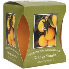 Bridgewater Candle Company Vonná votivní svíčka Orange Vanilla (pomeranč a vanilka)