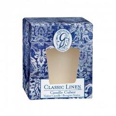 Greenleaf Vonná votivní svíčka Classic Linen