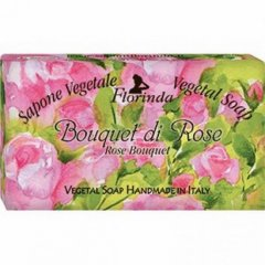 La Dispensa Italské mýdlo Bouquet Di Rose 100 g