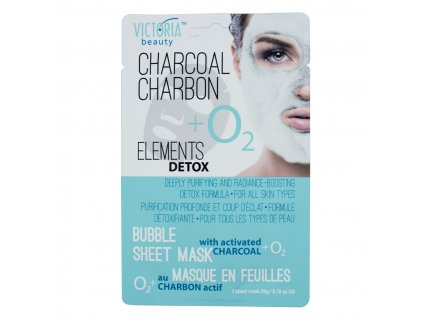 0770443 Bubble Mask Charcoal front